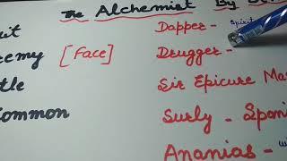 The Alchemist by Ben Jonson in Hindi