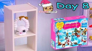 Playmobil Holiday Christmas Advent Calendar Day 8 Cookie Swirl C Toy Surprise Video