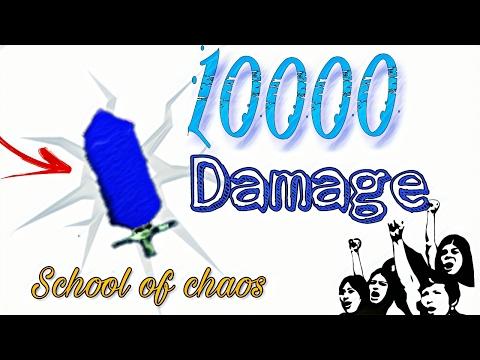 School of Chaos - HACKER (INSANE SWORD) KILL 1 HIT..