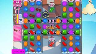 Candy Crush Saga Level 1470 NEW 25 moves No Boosters