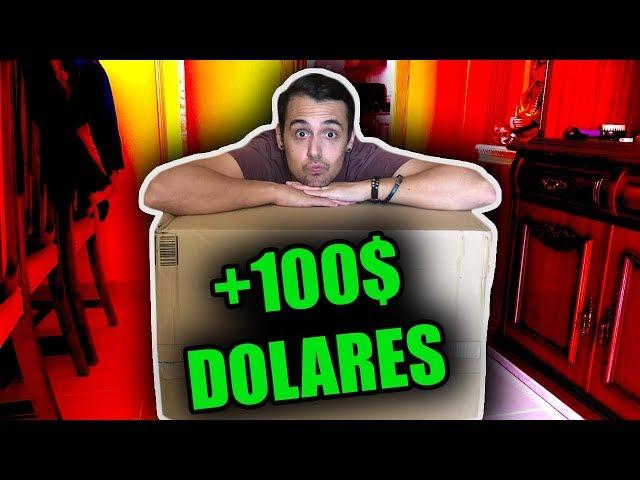 COMPRÉ CON LYNA UNA CAJA GIGANTE DE +100$ *Y FUE UNA SORPRESA*