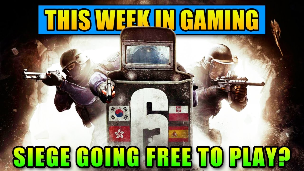 Rainbow Siege Siege Going Free To Play?! - This Week In Gaming | FPS News