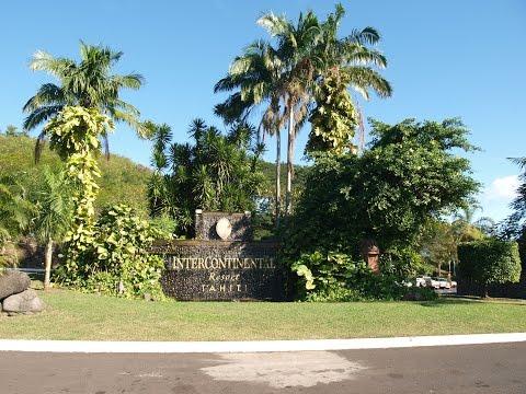 Hotel Intercontinental Tahiti Faaa le 25 09 15