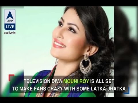 In Graphics: Mouni Roy's look from her first Bollywood item number