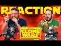 Star Wars: The Clone Wars | Official Trailer | Disney+ REACTION!!
