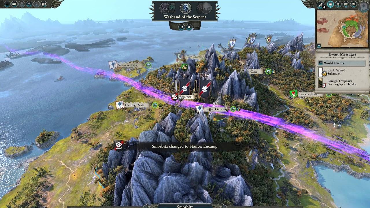 Total War Warhammer 2 : phần 5 tấn công phương bắc