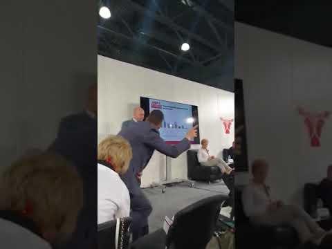 Презентация завода по глубокой переработки гороха в рамках конференции на VIV