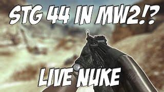 the stg 44 in mw2 modern warfare 2 repz live gameplay