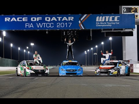 Polestar Cyan Racing – 2017 WTCC – Race 10 – Qatar