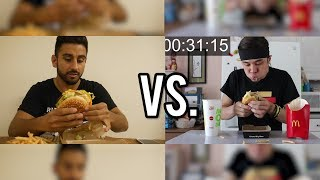 The FASTEST McDonald's Grand Mac Meal Ever Eaten (under 1 Minute!!)
