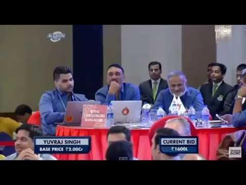 """IPL Auction 2015 yuvraj singh """"IPL Auction 2015 yuvraj singh"""""""