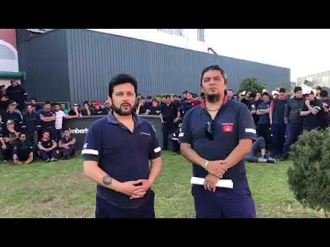 Video: trabajadores denuncian el cierre de la planta papelera de Kimberly Clark de Bernal