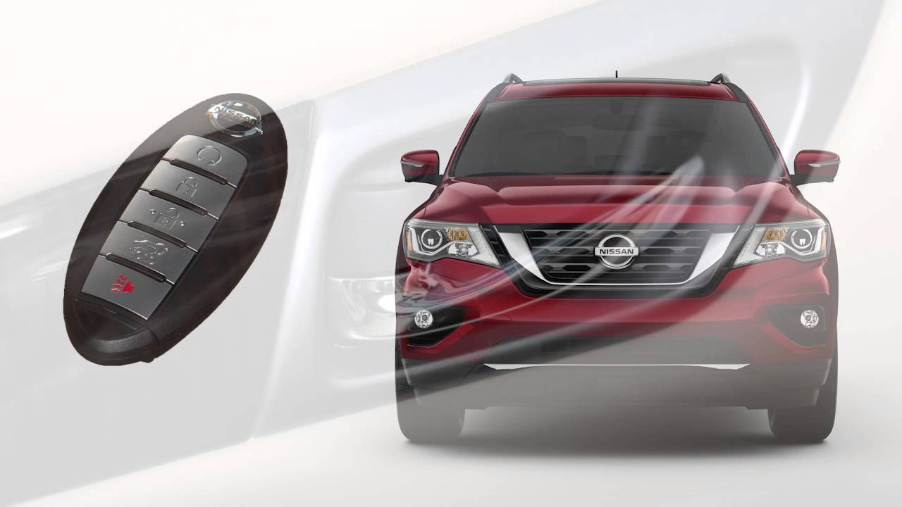2017 Nissan Pathfinder Intelligent Key And Locking Functions