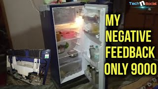 Whirlpool Refrigerator 190 after use of 1 Year Review Small Negative Feedback