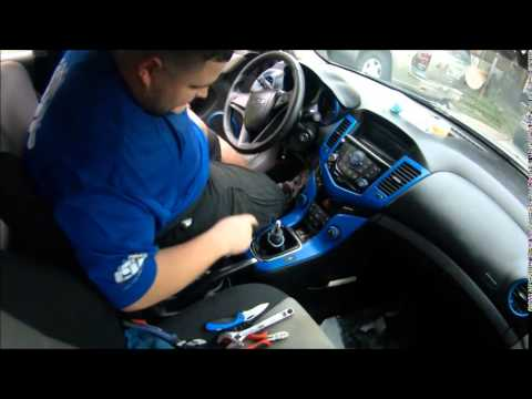 Chevy Cruze M T Shift Knob Youtube