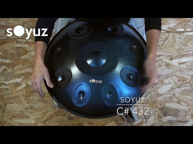 Handpan soyuz C# 432