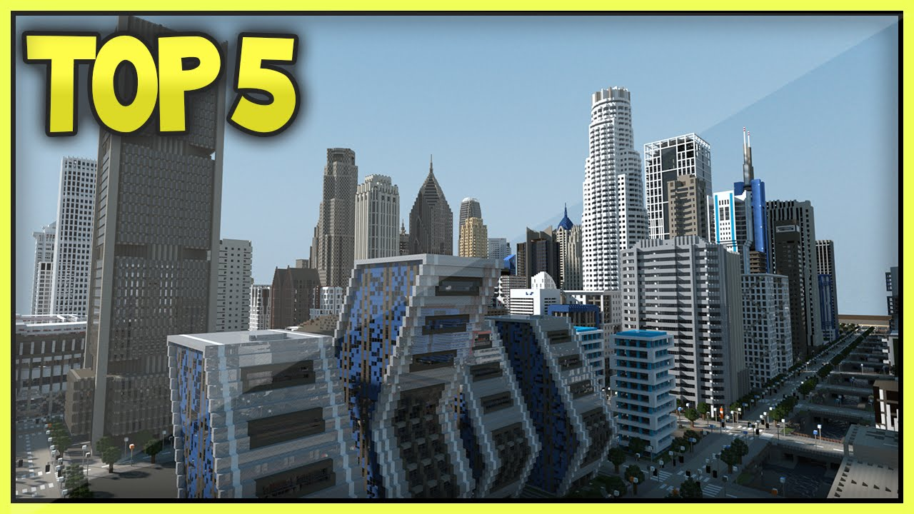 Top 5 Minecraft Cities (HD