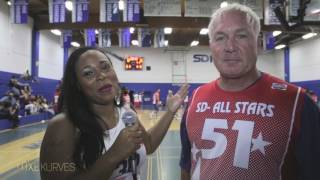 San Diego Celebrity All Star Basketball Game with Eric Bellinger