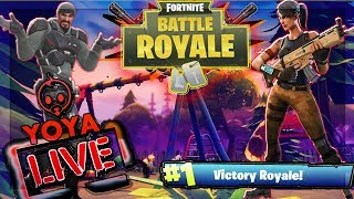 Fortnite Battle Royale-New Skins - 50v50- Giveaway At 2K Subs - Lets Run It Up!!!