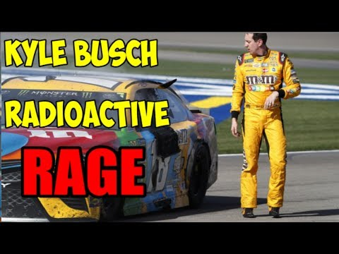 Best of Kyle Busch RAGE | NASCAR 2017 Radioactive