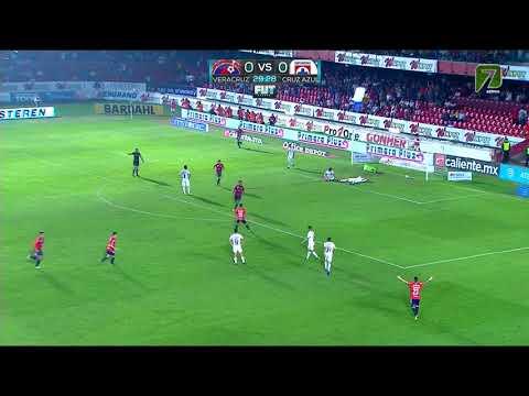 Gol de C. Kazim-Richards | Veracruz 1 - 0 Cruz Azul | LIGA Bancomer MX - Clausura 2019 - Jornada 8