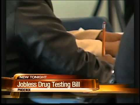 State senate passed bill for drug tests for unemployed