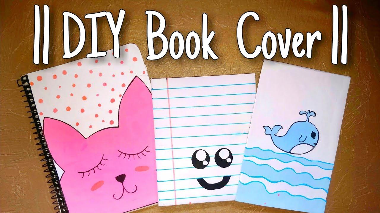 Books design handmade notebook