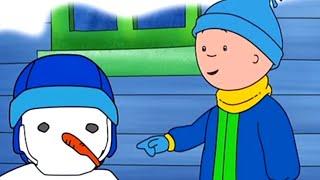 Caillou en Français - Caillou et le Bonhomme de Neige | dessin animé | conte pour enfant