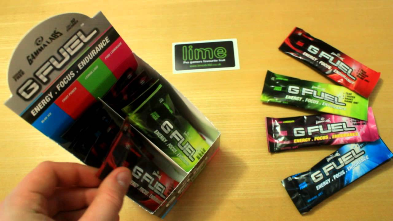 unboxing first look gamma labs g fuel energy drink box from limexb youtube. Black Bedroom Furniture Sets. Home Design Ideas
