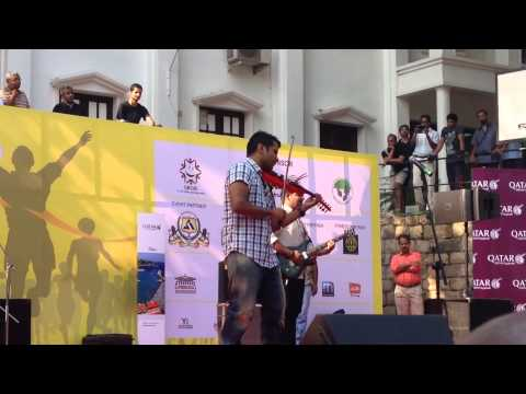 Mind Blowing Vilolin Performance By Violin Balabhasker Band