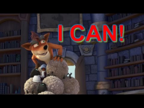 Crash bandicoot can talk - Skylanders Academy