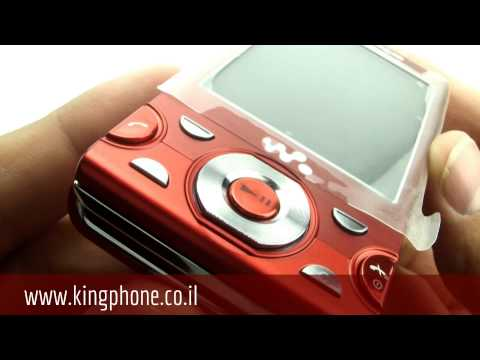 Sony Ericsson W995 (Red) טלפון סלולרי