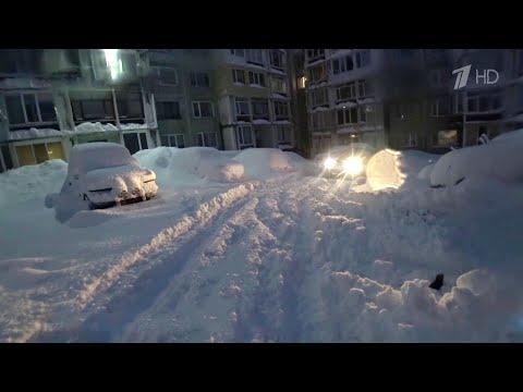 На Камчатке устраняют последствия мощного циклона.