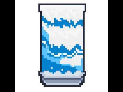 El agua fluye