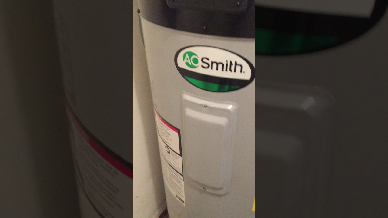 Ao Smith Heat Pump Water Heater a.o smith hybrid electric water heater - youtube