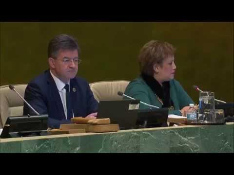 UN General Assembly Vote on Status of Jerusalem