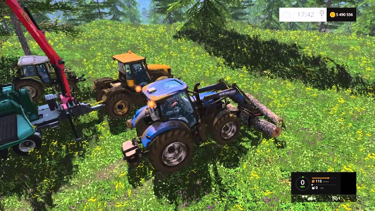 farming simulator 15 copeaux de bois - Copeaux De Bois Colors