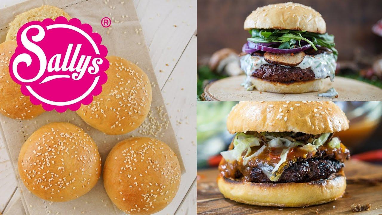 Bun Bun Burger Schwenningen : geniale einfache burger buns burger br tchen sallys welt youtube ~ Watch28wear.com Haus und Dekorationen