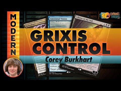 Channel Corey - Modern Grixis Control (Deck Tech & Matches)
