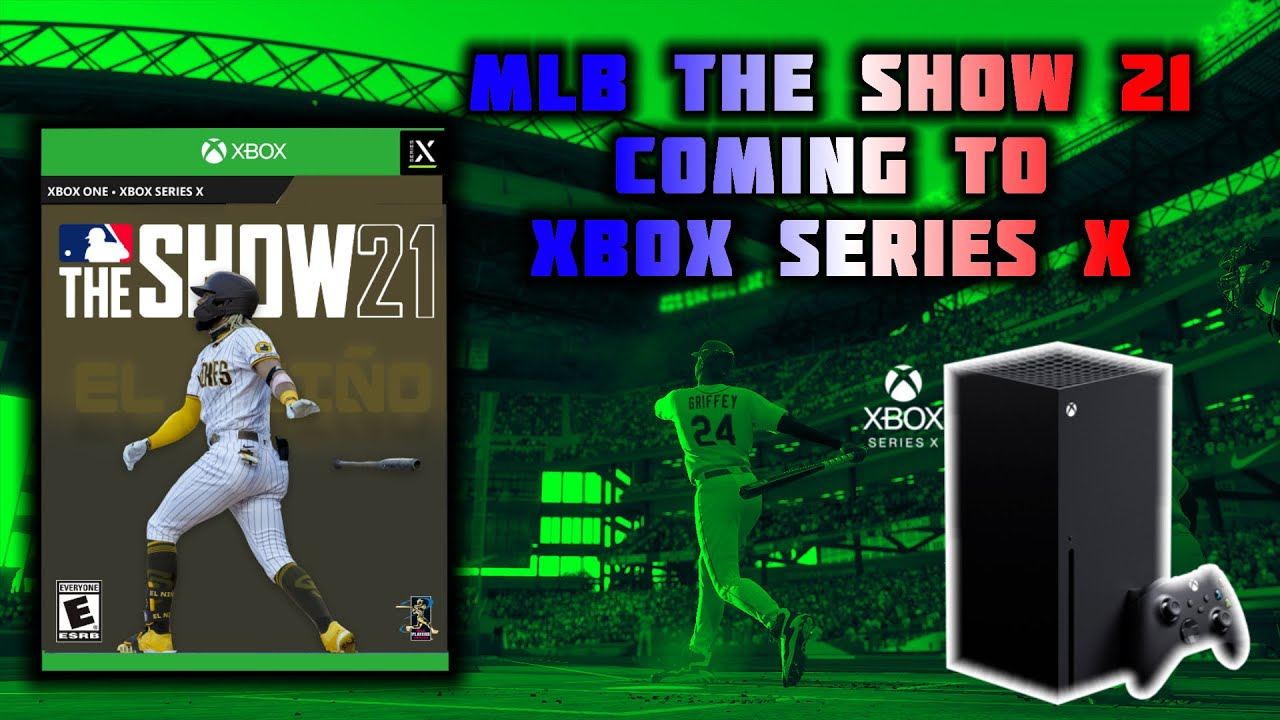 MLB The Show 21 Coming To Xbox Series X