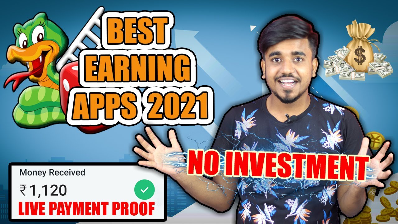 Best Self-Earning App in 2021    Earn Daily ₹2,500 Cash Without Investment    Snakes & Ladders App