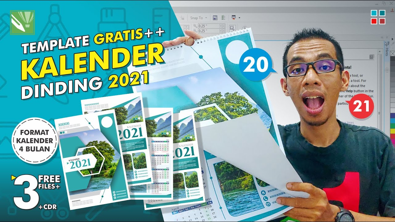 Luiz Martins: Download 36+ 22+ Template Kalender Dinding ...