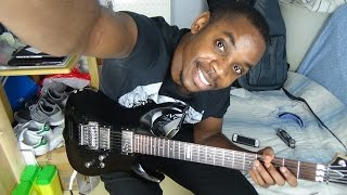 How to play seben lesson #4 - Guitar arpeggios african riffs for congolese music