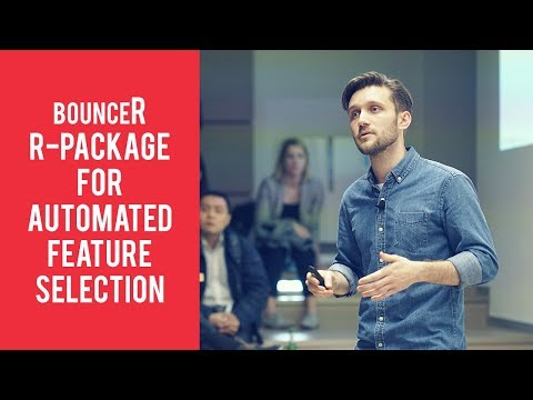 bounceR - R-Package for Automated Feature Selection - Lukas Strömsdörfer (STATWORX)