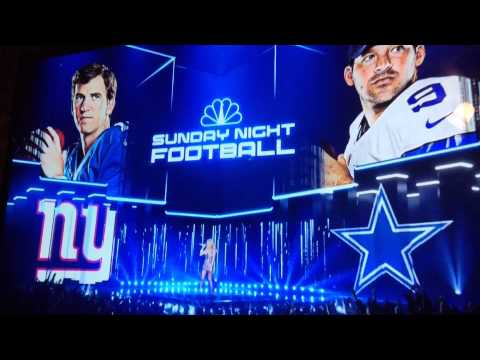 new york giants record on sunday night football images
