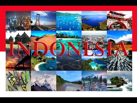Want to travel the world? Just go to INDONESIA!