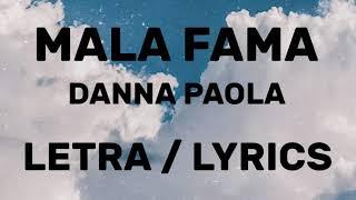 Mala Fama - Danna Paola    S