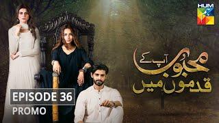 Mehboob Apke Qadmon Mein Episode 36 Promo HUM TV Drama