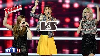 Téléphone – Un autre monde   Nehuda VS Suny VS Estelle Mazillo   The Voice France 2015   Battle