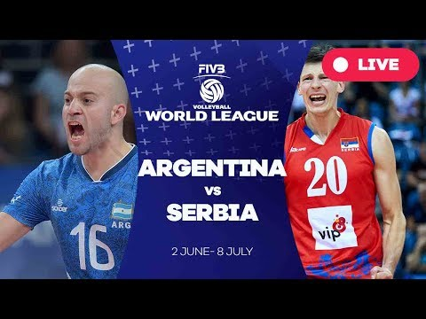 Argentina v Serbia - Group 1: 2017 FIVB Volleyball World League